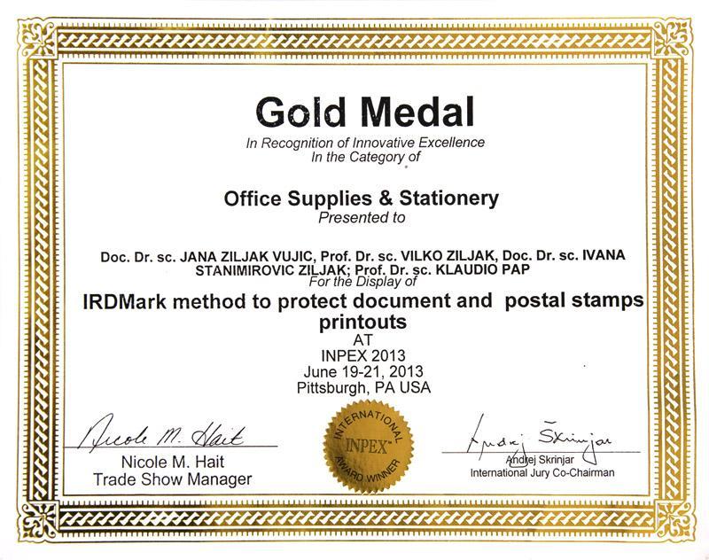 "Zlatno odličje u kategoriji ""Office Supplies & Stationery"""