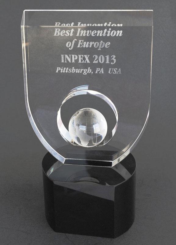 "Nagrada za Najbolju Europsku inovaciju za ""IRDMark method to protect document and postal stamps printouts"""